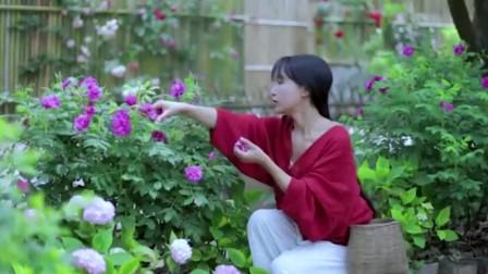 李子柒:做冰淇淋,网友:看着就好吃,能分点给我吗?