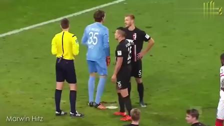 足球搞笑时刻,10个有趣的点球,完全就是欺负守门员老实人!