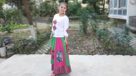 中国舞蹈家协会推广百姓健康舞《洗衣歌》武汉白玫瑰学练版