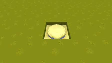 迷你世界 奶油蛋糕制作教程 彤彤都要流口水了