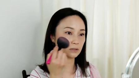女子素颜一般般,简单化个妆后,气质瞬间提升几倍