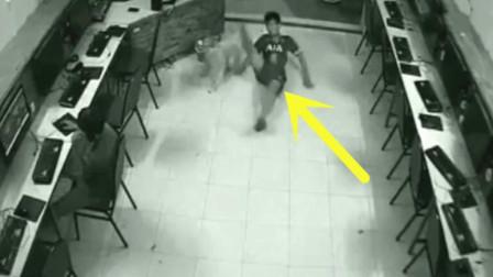 男子背着家人偷偷到网吧上网,却不料前脚刚进门,惨剧就发生了