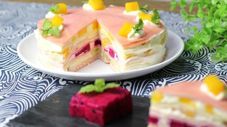 爱吃千层蛋糕的记得收藏啦,做法简单,只需一个平底锅就可以搞定,超级好吃