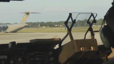 C17环球霸王运输机起飞,来个刺激的视觉,当一次机长的感受