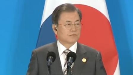 央视新闻联播 2019 李克强与韩国总统 日本首相共同会见记者