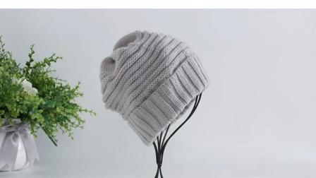 暖阳绒绒第39集男士帽子的编织教程编织花样图解