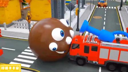 变了八只眼睛的吃豆人能被消防车成功解救吗?吃豆人游戏