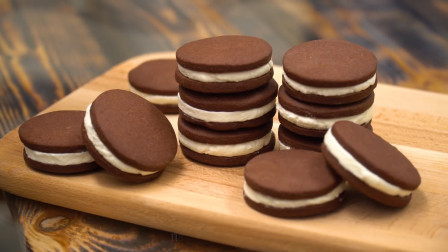 吃了那么多奥利奥饼干,原来自己在家也能做!材料做法都很简单哦
