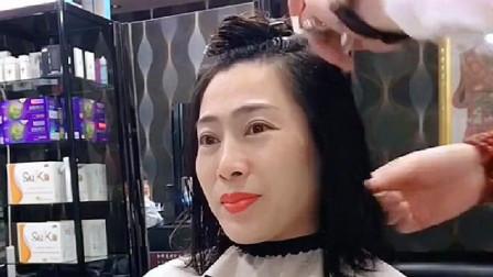 过了35岁的女人容易看老,试试同款发型,超级减龄显瘦!
