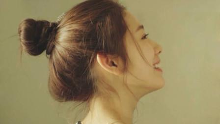 十二星座专属的公主发型,魔羯座的丸子头非常可爱