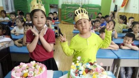 女儿在幼儿园过生日妈妈送蛋糕,却退回,老师:只收大的!