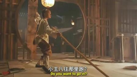 黄飞鸿狠揍少林叛徒,棍法犀利,老电影就是看的过瘾!