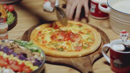 日食记:我有一个圣诞披萨,你愿意陪我一起吃么?