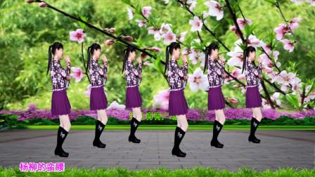 经典热门广场舞《花儿哪有阿妹俏》轻盈优美32步,好学好看