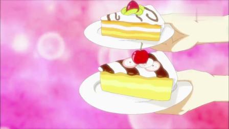 巴啦啦小魔仙:牛奶刚拿两蛋糕,看了眼小蓝,就分辨不出蛋糕种类