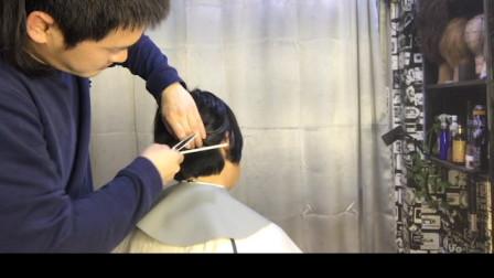女发剪发美发教学(第二集)