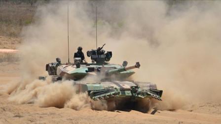 新型坦克首战克什米尔,美制火炮刚开火,印军观察哨就被巴打掉