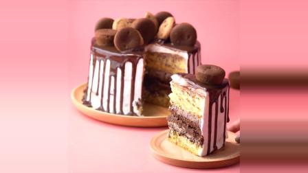 世界上最满意的蛋糕视频美味的巧克力蛋糕装饰大全