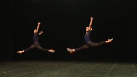 北京舞蹈学院古典舞《摆腿组合》,这个组合看着太爽了,踩点好准!