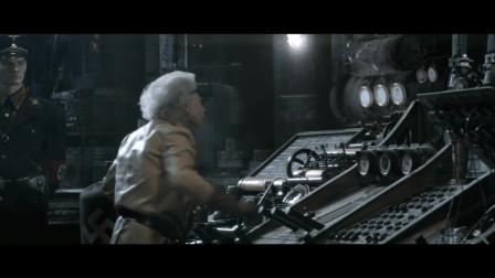 一部科幻电影,二战德军在月球建立军事基地,妄图侵略地球