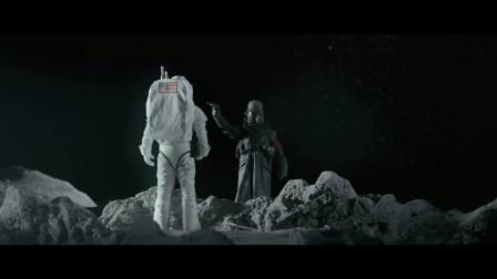 两个宇航员探索月球,不料二战时期,德国已经在月球建立了军事基地