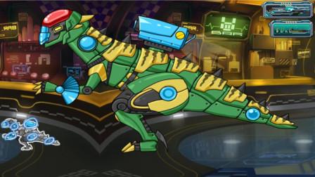 拼装机械霸王龙对战克隆霸王龙谁赢?