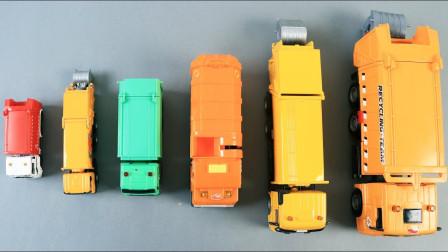 工程汽车模型玩具展示