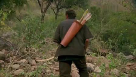 丛林野食篇,狩猎一只火鸡,吃法让我没想到!