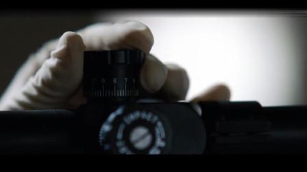 一部高级狙击电影,机械组装,子弹上膛,远程狙击,一气呵成