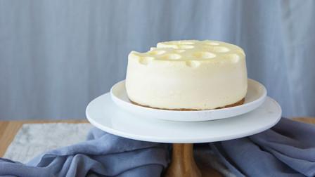 【杰瑞蛋糕】猫和老鼠同款芝士蛋糕,不用烤箱也可以轻松get~