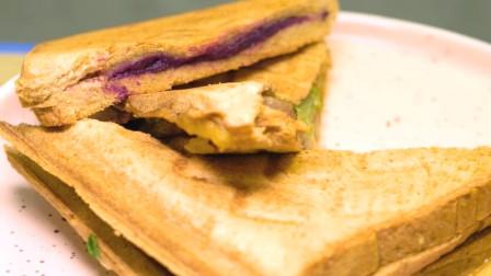 三分钟搞定的三明治,懒人福音,你值得拥有~