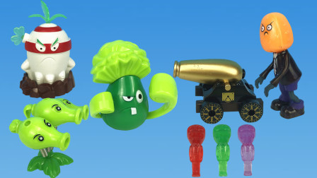 植物大战僵尸之新大炮小鬼炮车,这次植物们可惨咯