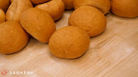 韩国街头 奶油大蒜面包  晚上好 忙碌的一天又结束了