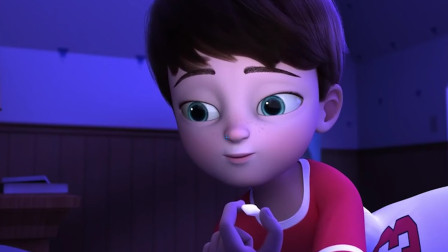小男孩希望牙仙出现给他金币,今晚牙仙会来吗?《墙上的礼物》