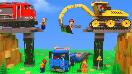 最新挖掘机视频表演10063大卡车运输挖土机挖机工作工程车
