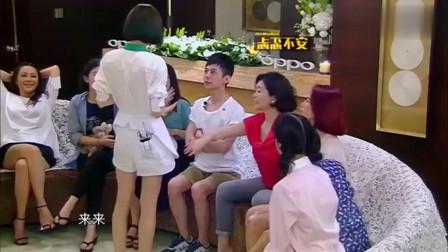 偶像来了:古拉娜扎玩游戏战胜何炅,何炅抱林青霞大腿伤心欲绝!