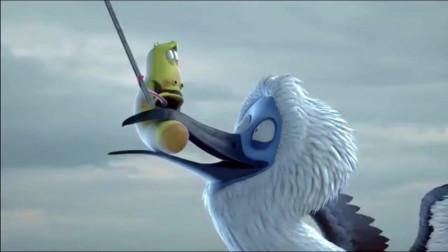 爆笑虫子:大白鸡载着虫虫冲上云霄,也不怕被雷劈