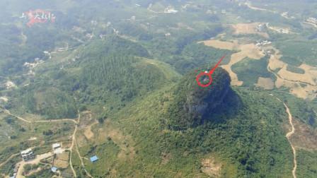 无人机发现的神秘古墓,山体形如巨鸟地势奇特,有大师来看看吗?