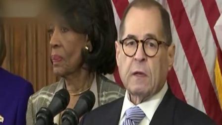 新闻早报 2019 美国 国会众议院公布两项弹劾特朗普条款 指控特朗普滥用权力和蔑视国会