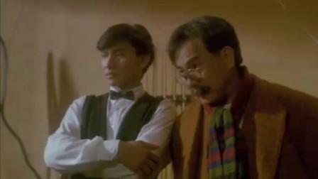 92神雕侠侣:刘德华经典老电影,打桌球这段太搞笑了,被气的不行
