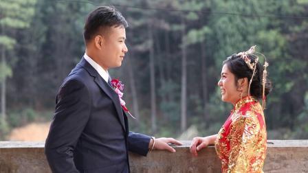 毛作羽,聂华灵婚礼视频