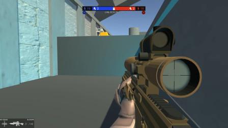 战地模拟器:对方顶着盾就冲了过来,我可是灭霸呀