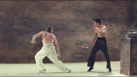 李小龙速度能有多快,这视频可以看出来,腿速一秒四踢!
