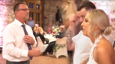 泪目!老爸用手语在失聪女儿婚礼上献唱,歌声响起新娘泪流满面