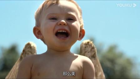 瑞奇的妈妈终于找到了他,阳光下的他,像极了一个天使