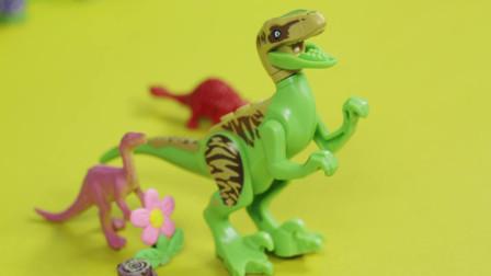 亲宝恐龙世界乐园儿歌:恐龙宝宝跳舞玩具版 宝宝们你们知道恐龙们是如何跳舞的吗
