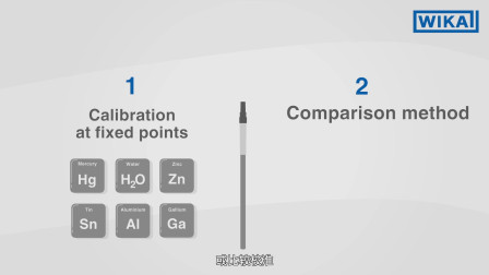 威卡中国:如何校准温度传感器?  比较校准与固定点校准(中文中字)