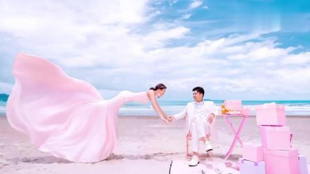 这样拍婚纱照新娘都不觉得尴尬吗?新郎都有点不好意思了!