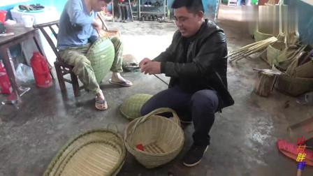 农村大哥拍摄聋哑大叔,没想到让他的竹制品插上了翅膀,走向全国