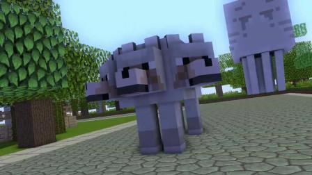 我的世界动画-怪物学院-炼制对决-KRIK KRIK